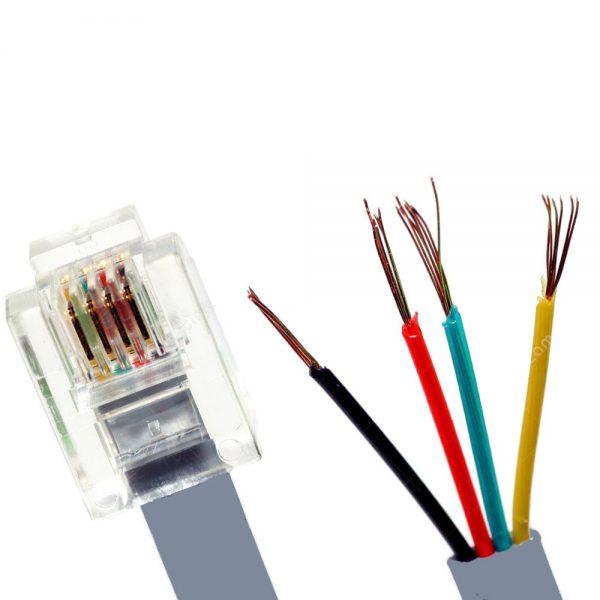 Cable téléphone