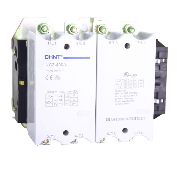 Contacteur Tetrapolaire NC2 CHINT