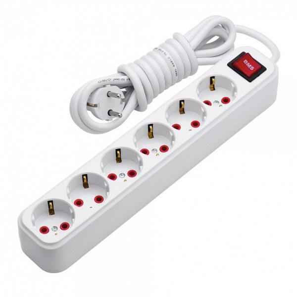 Multiprises BMS avec interrupteur