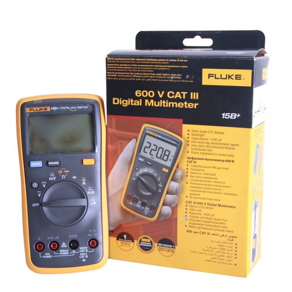 Multimètre digital 600V CAT III FLUKE
