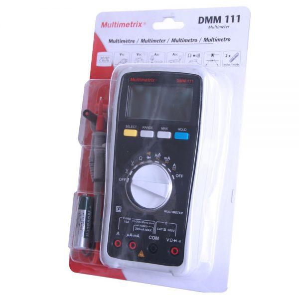 Multimètre numérique MULTIMETRIX