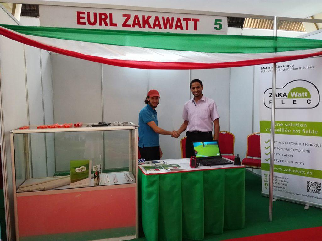ZakaWatt participant à la FIDAK 2017